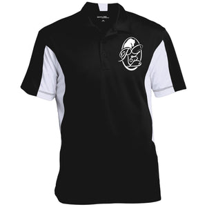 RGB Men's Colorblock Performance Polo