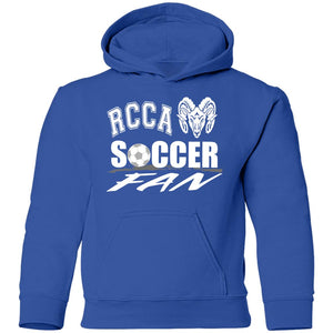 RCCA Soccer Fan Youth Pullover Hoodie