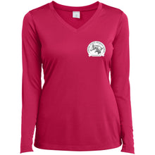 ESAHA Ladies LS Performance V-Neck T-Shirt