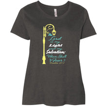 Psalm 27 Ladies' Curvy T-Shirt