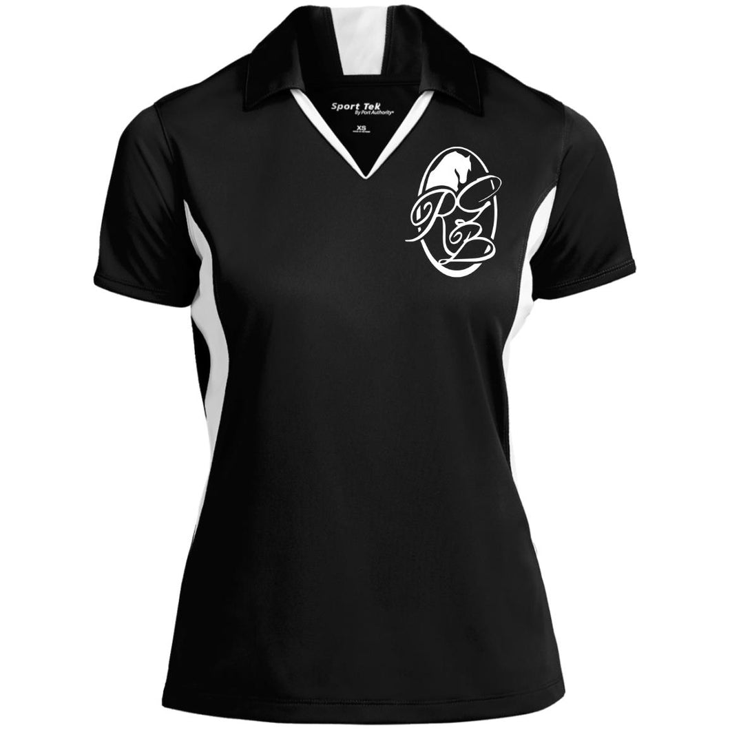 RGB Ladies' Colorblock Performance Polo