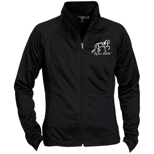 Ladies' Raglan Sleeve Warmup Jacket Customize to Celebrate