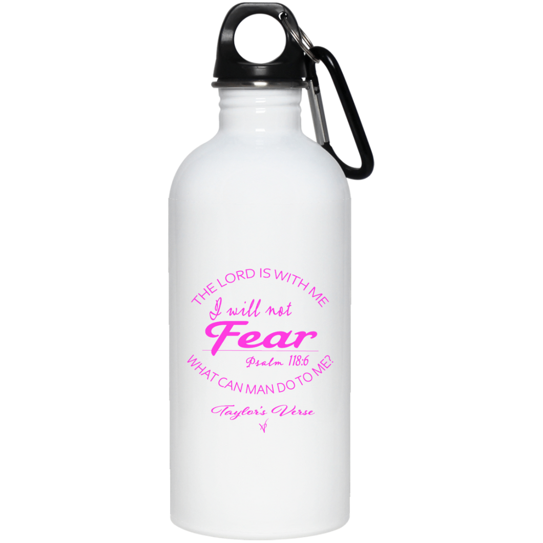 Taylor's Verse 20 oz. Stainless Steel Water Bottle