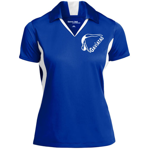 Ladies' Colorblock Performance Polo