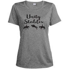Unity Stables Ladies' Heather Dri-Fit Moisture-Wicking T-Shirt