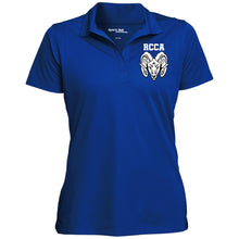 RCCA Women's Micropique Tag-Free Flat-Knit Collar Polo