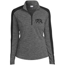 Hunter Electric Heather Colorblock 1/4-Zip Pullover