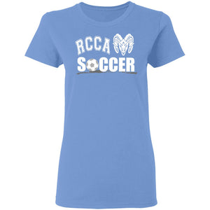 Soccer Ladies' 5.3 oz. T-Shirt