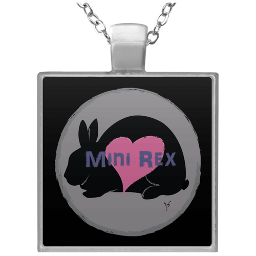 Mini Rex Square Necklace