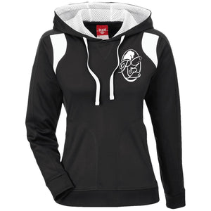 RGB Ladies' Colorblock Poly Hoodie