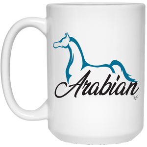 Arabian White Mug