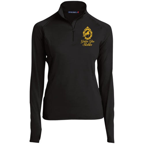 Golden Glen Stables 1/2 Zip Performance Pullover