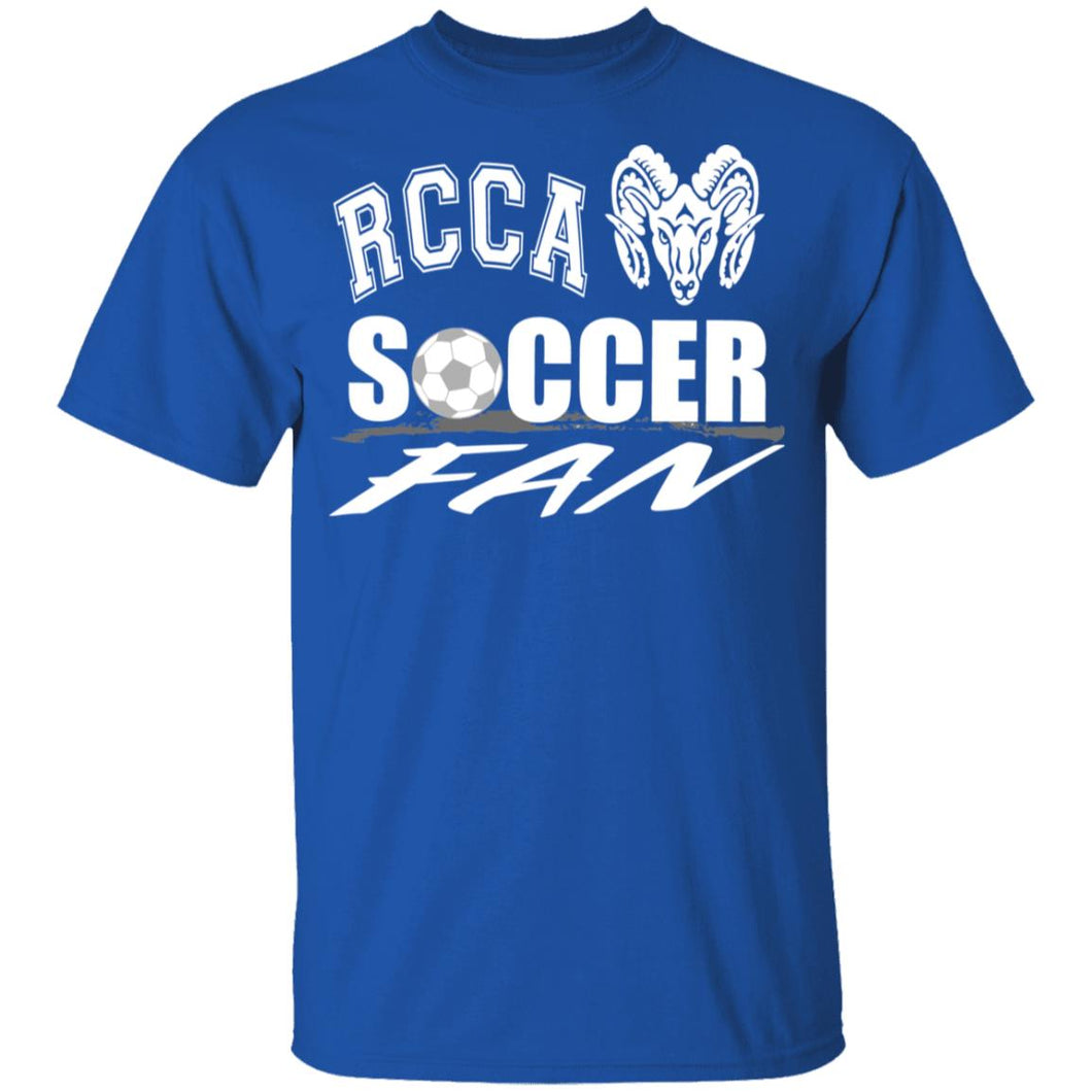 RCCA Soccer Youth 5.3 oz 100% Cotton T-Shirt