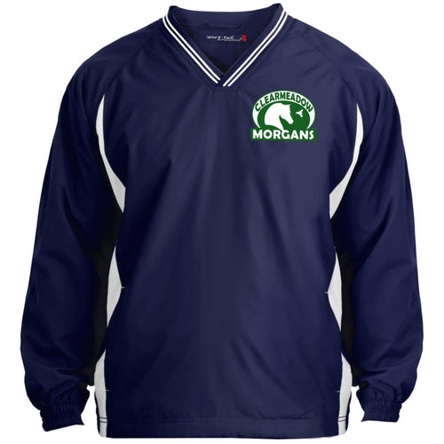 Clearmeadow Morgans Tipped V-Neck Windshirt