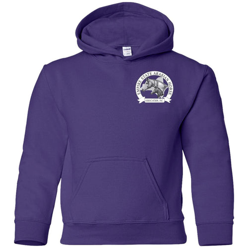 ESAHA Youth Pullover Hoodie w/ White Ink Back Design