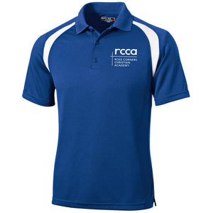RCCA Moisture-Wicking Tag-Free Golf Shirt