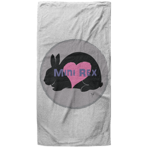 Mini Rex Beach Towel - 37x74