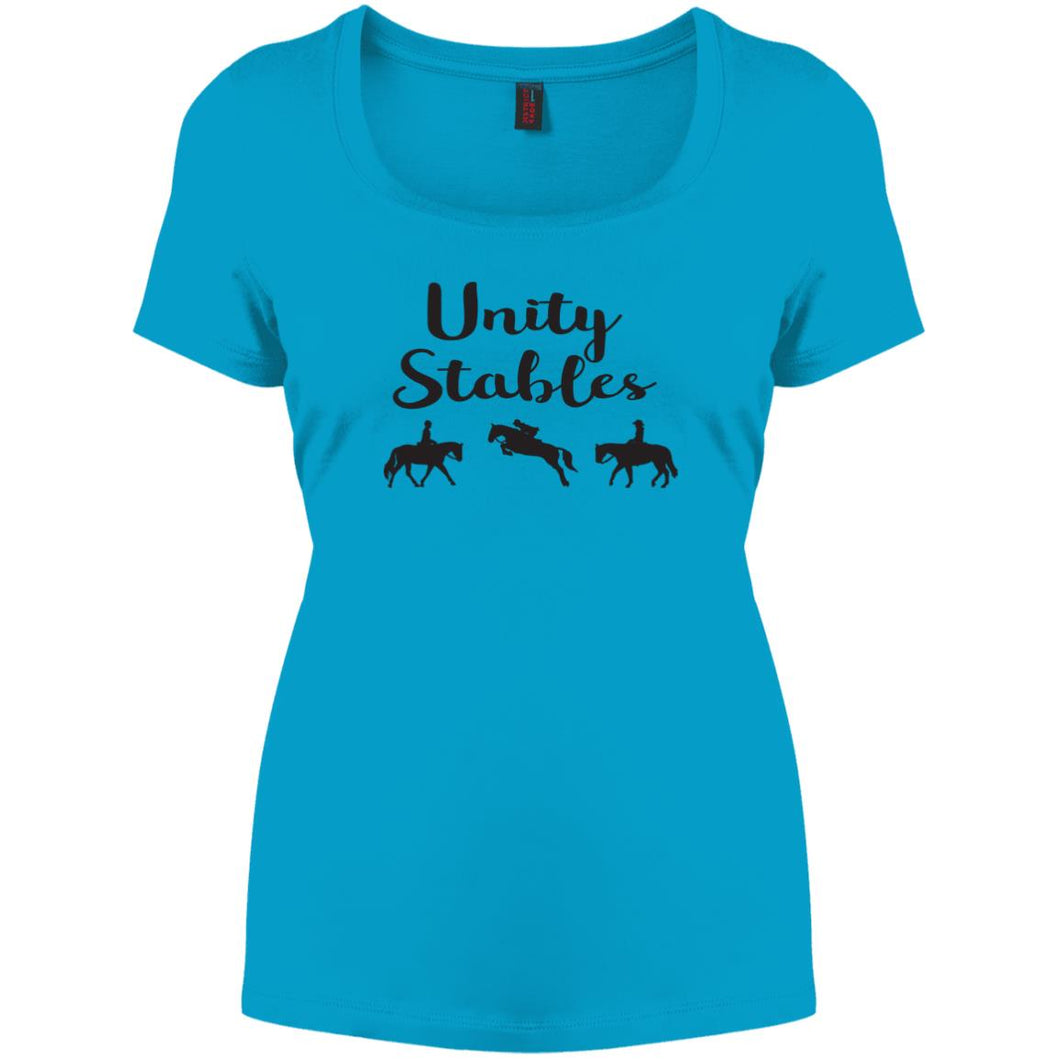 Unity Stables Scoop Neck Tee