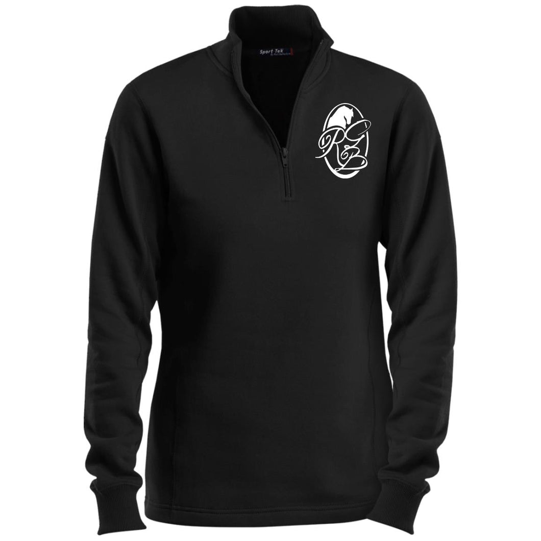 RGB Ladies' 1/4 Zip Sweatshirt