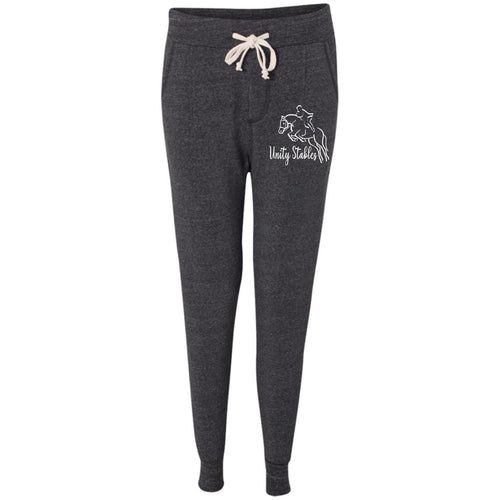 Unity Stables Jumping Horse Ladies' Fleece Jogger