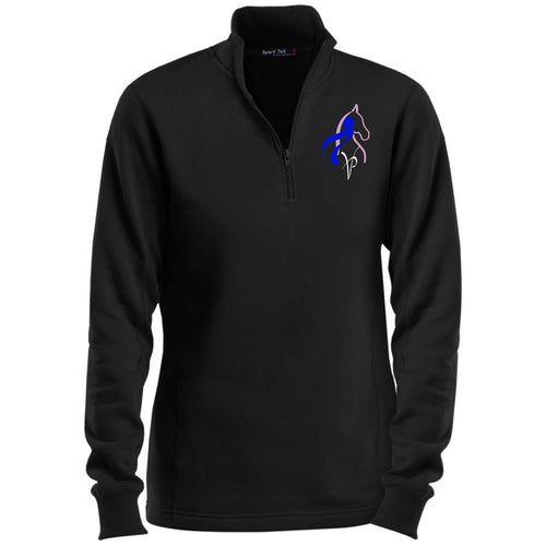 VP Ladies' 1/4 Zip Sweatshirt