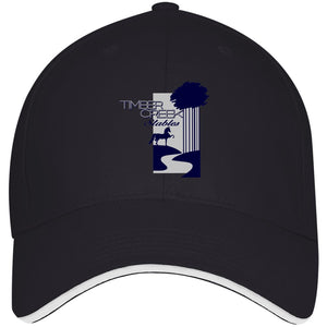 Timber Creek Structured Twill Cap With Sandwich Visor