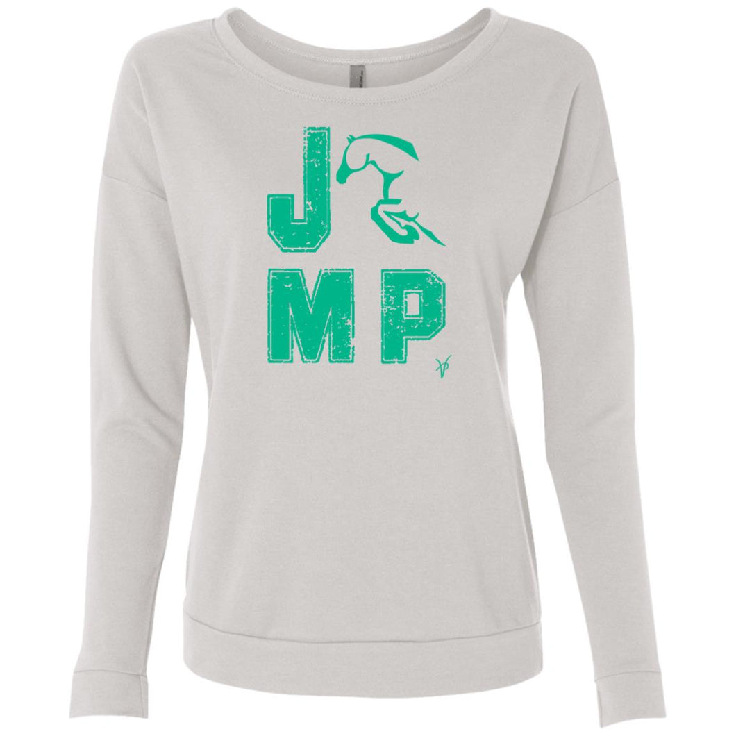JUMP Ladies' French Terry Scoop