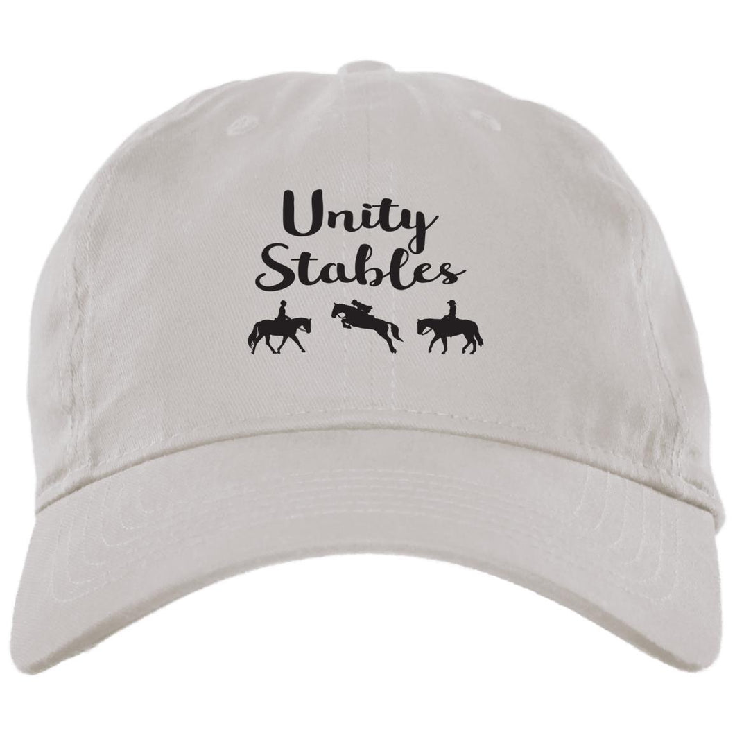Unity Stables Brushed Twill Unstructured Cap