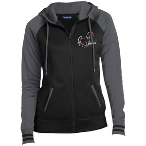 Ladies' Moisture Wick Hooded Jacket Customize To Celebrate