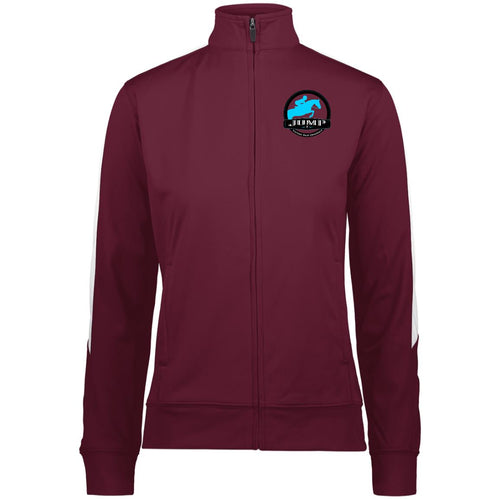 Jump Badge Embroidered Ladies' Performance Full Zip