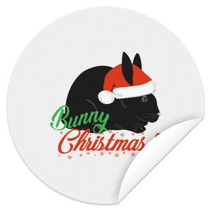 Christmas Circle Sticker