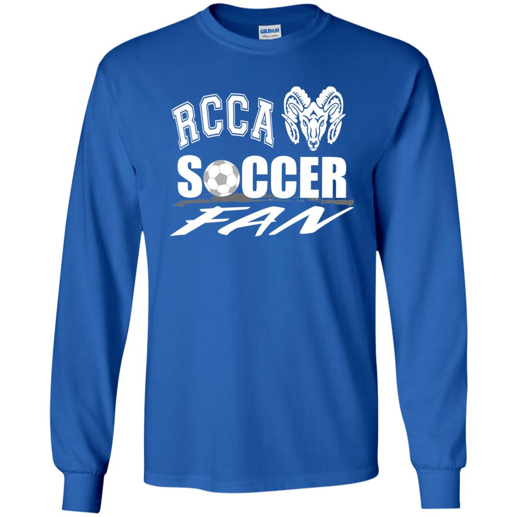RCCA Soccer Fan Youth LS T-Shirt