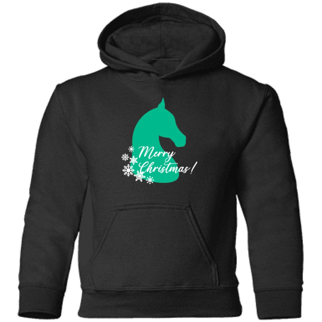 Merry Christmas Horse Toddler Hoodie