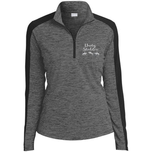 Unity Ladies' Electric Heather 1/4-Zip Pullover