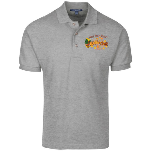 Oktoberfest Embroidered Polo- Adult