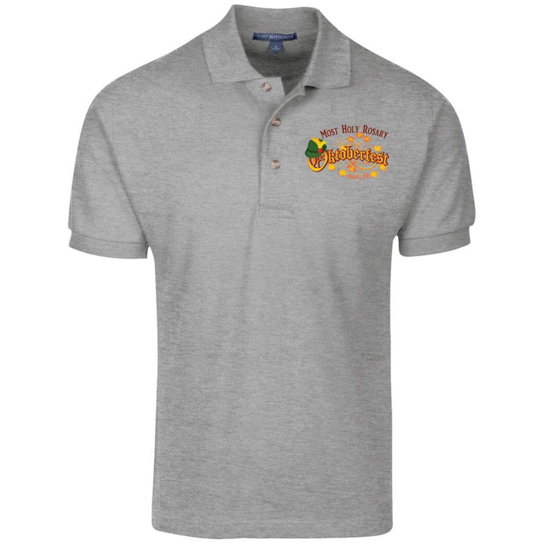 Oktoberfest Embroidered Polo- Youth