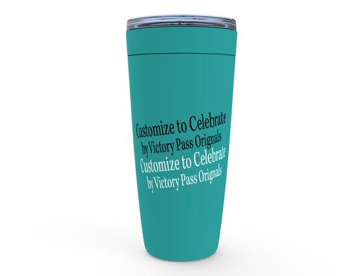 Customize to Celebrate Viking Tumblers