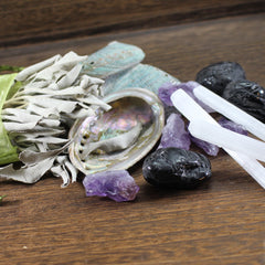 cleansing charging and programming crystals