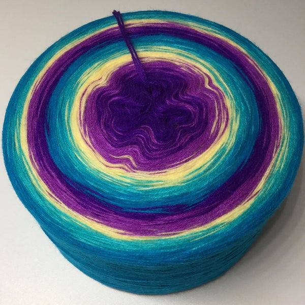 RappelBobbel 3 ply - Blue Orchid Double (Blaue Orchidee doppelt)