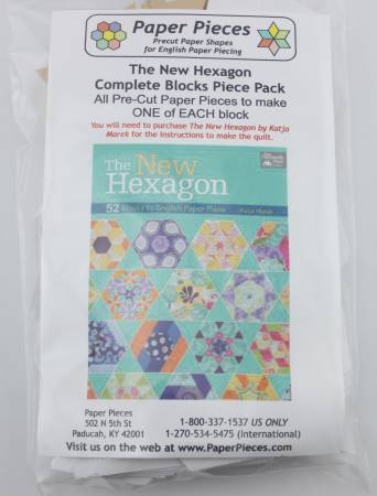 The New Hexagon Complete Blocks Piece Pack