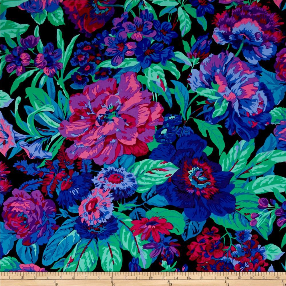 Kaffe Fassett - Voluptuous, Black