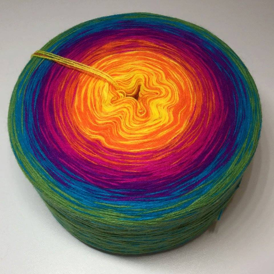 RappelBobbel 4 ply - Another Day In Paradise