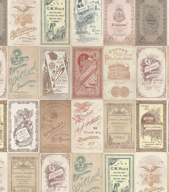 Tim Holtz - Foundations, Photo Card