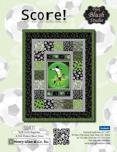 Score! by Henry Glass & Co, Quilt Kit
