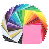 "Oracal Assorted 651 Vinyl - 48 Pack of Top Colors - 12"" x 12"" Sheets"