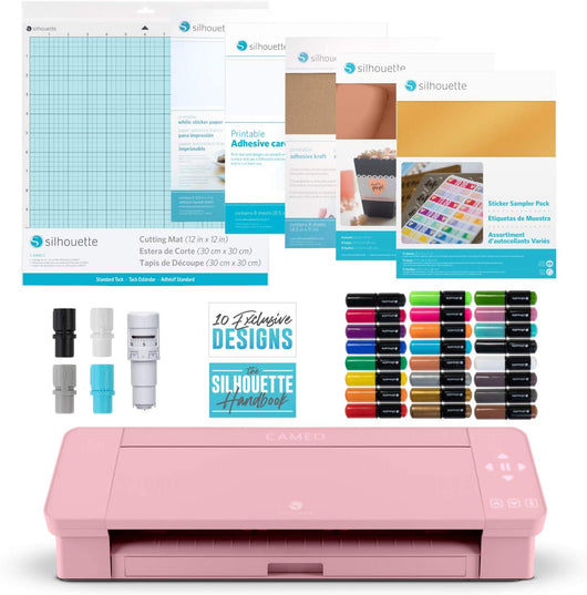 Silhouette Cameo 4 -  Pink Crafts Bundle