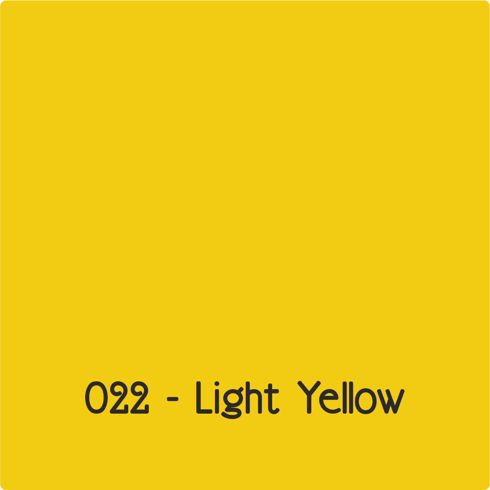 Oracal 631 - Light Yellow