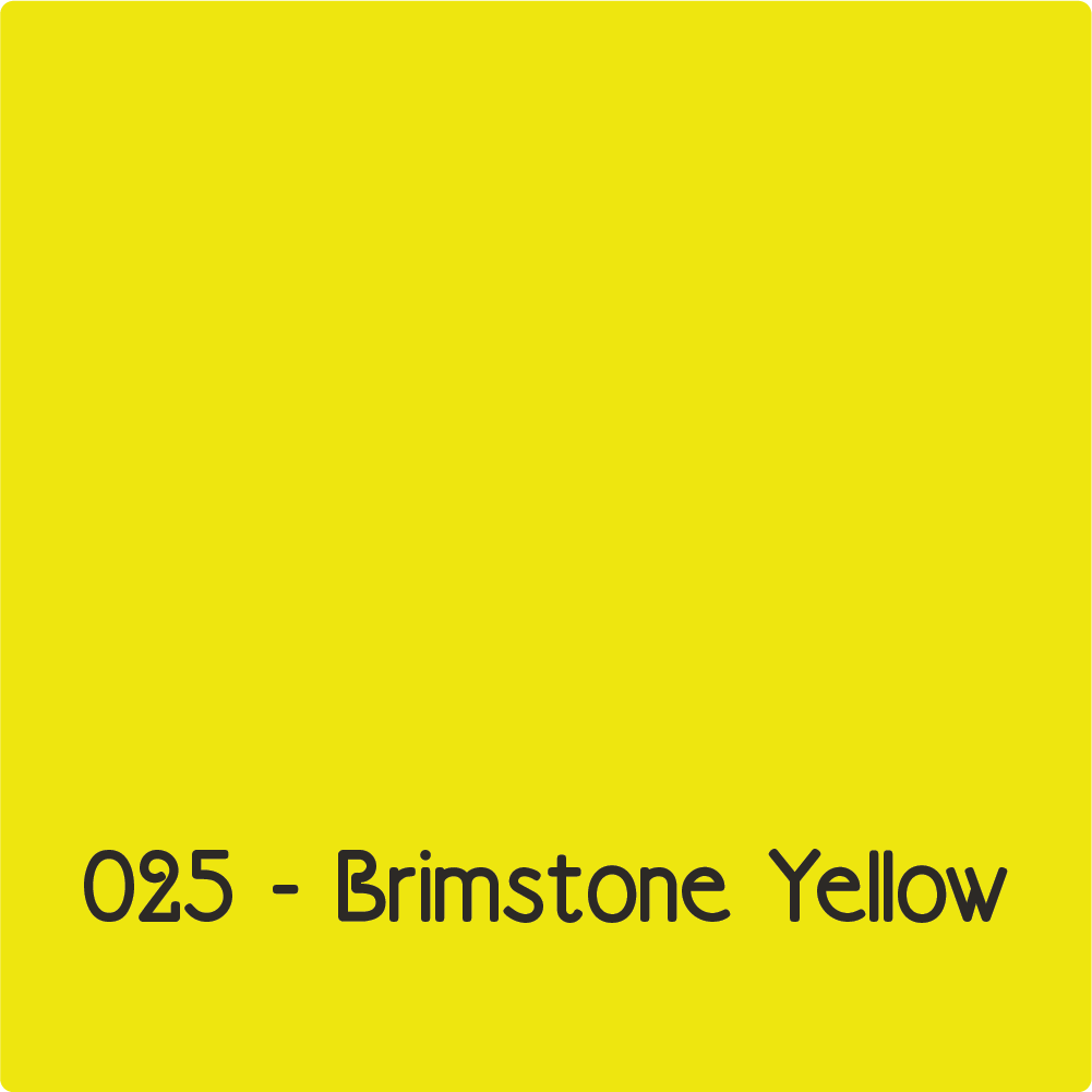 Oracal 631 - Brimstone Yellow