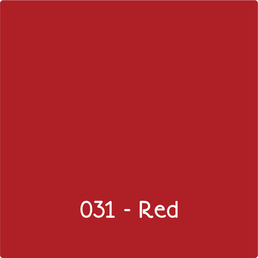Oracal 631 - Red