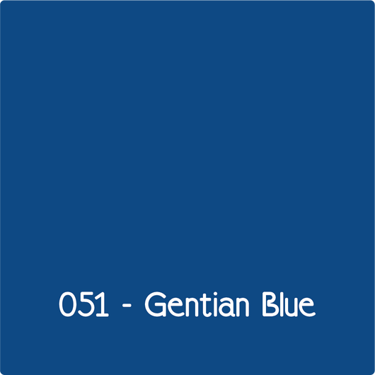 Oracal 631 - Gentian Blue